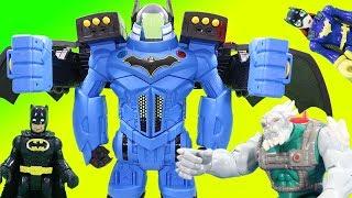 Batman Imaginext Batbot Xtreme DC Super Friends Magic Toy Adventure