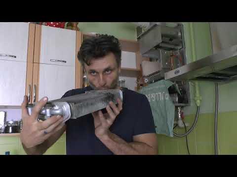 Чистка теплообменника котла Nova Florida VELA COMPACT
