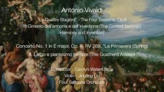 Antonio Vivaldi - Four Seasons Concerto No. 1, Op.8, RV 269 (Spring), II. Largo