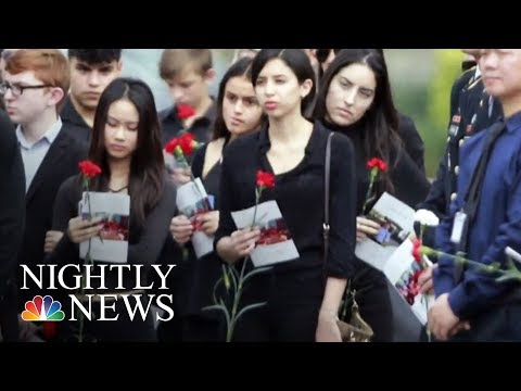 Students Head To Florida State Capitol To Meet Lawmakers And Protest   NBC Nightly News