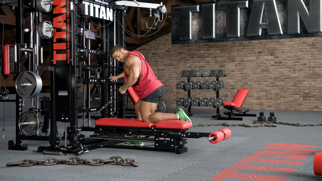 T1-X-89 - Cable One-Arm Bent-over Row - YouTube  T1-X-89 - Cable...