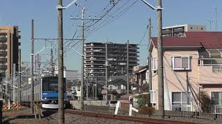 東武60000系61607F春日部~藤の牛島通過
