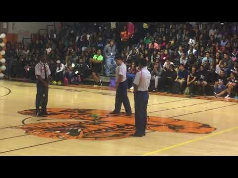 Boyd h anderson high school pep-rally part b seat view 2017