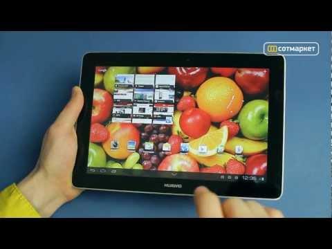 Видео обзор Huawei MediaPad 10 FHD от Сотмаркета