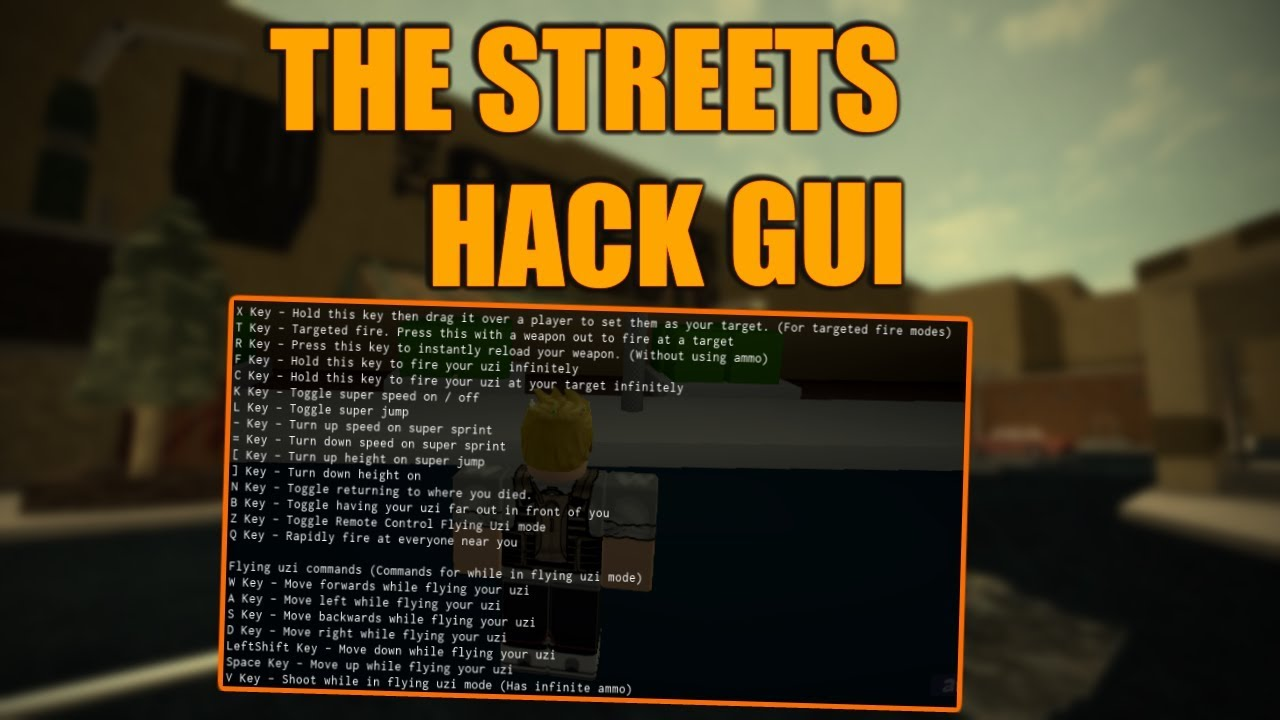 roblox the streets hack