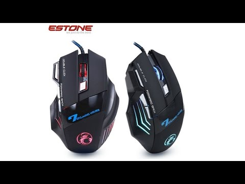 Игровая мышь за 6$!! Estone X7 7D Gaming mouse