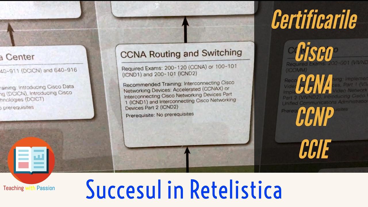 ❗ Calea spre Succes in Cariera ta din Domeniul IT |  Retele de Calculatoare | Certificarile Cisco