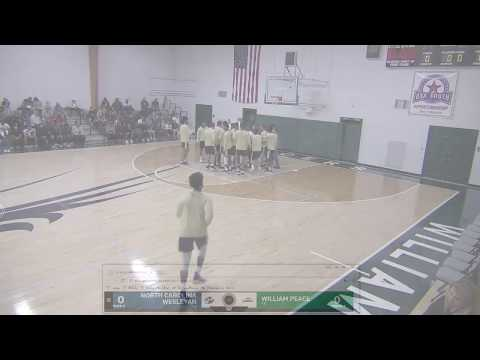 William Peace University Men's Basketball v. N.C. Wesleyan (11.29.17)