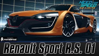 Need For Speed No Limits: Renault Sport R.S. 01 | MAXXED OUT + TUNING [All Black Edition Parts]