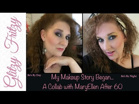 1980&39;s Makeup  My Makeup Story Began Collab with MaryEllen After 60