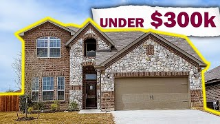 Fort Worth, Texas Real Estate - New Construction Home For Under $300,000!!!