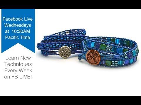 FB Live beadshop.com Summertime Blues