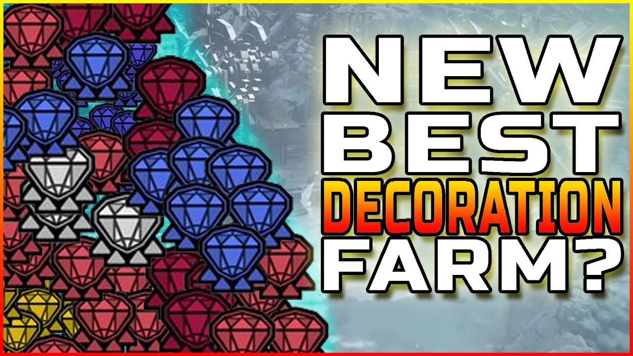 NEW FASTEST DECORATION FARM? | MHW Iceborne - YouTube