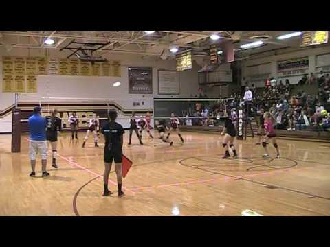 Mulberry vs. Lake Gibson Volleyball