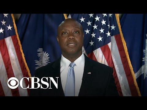 Senator Tim Scott delivers Republican response to President Biden's address to Congress