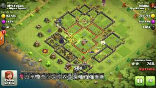 Th 10 war attack strategy, QUEEN WALK WITH GOVABO, AND BOWLER WALK, CLASH OF CLANS