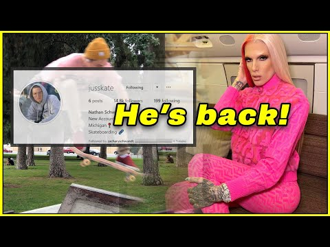 jeffree star's EX has a new IG but is Jeffree BLOCKED?