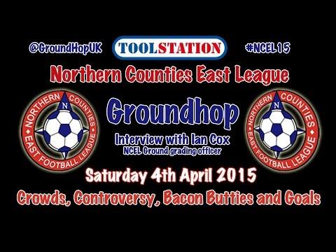 NCEL Groundhop UK 4/4/15 interview with Ian Cox