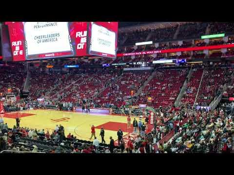 West Briar Middle School 2018-19 Cheerleaders Houston Rockets Halftime Performance 2019