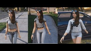 Video GTA V MODS Lana Sims 4 Custom OC  three clothes download MP3, 3GP, MP4, WEBM, AVI, FLV Oktober 2018