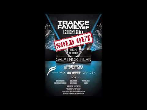 Jordan Suckley LIVE @ Trancefamily San Francisco (26.08.17)