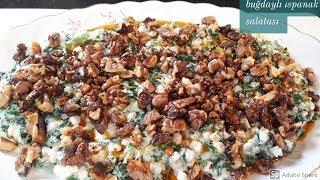 Buğdaylı Ispanak Salatası Tarifi -Hülya Ketenci - Salata Tarifleri