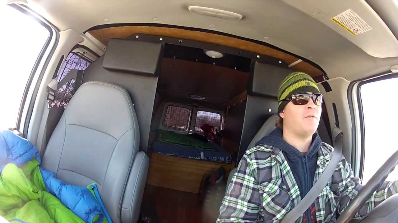living in a van update from the tundra youtube. Black Bedroom Furniture Sets. Home Design Ideas