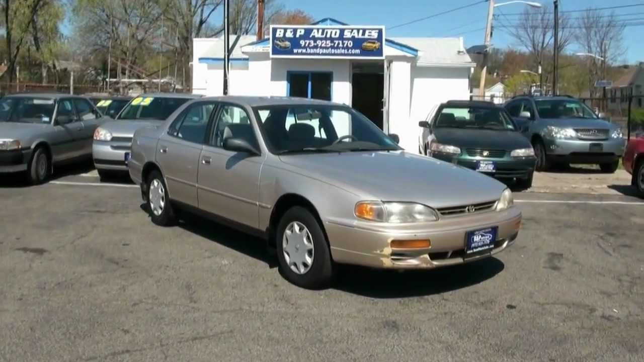 1995 Toyota Camry Dx 5 Speed Youtube