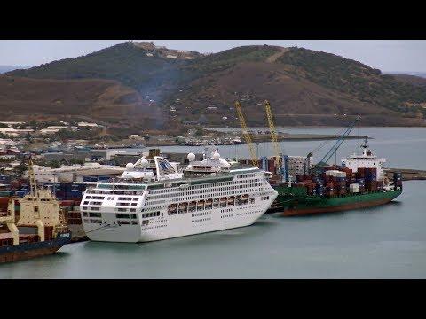 Sun Princess cruise ship 4K