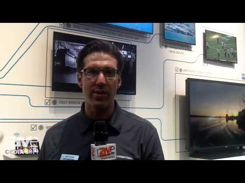 CEDIA 2014: Crestron Talks About Crestron Digital Media