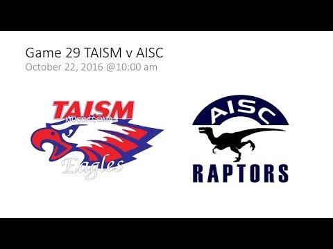 Game 29 TAISM v AISC  - SAISA Girls' Volleyball 2016