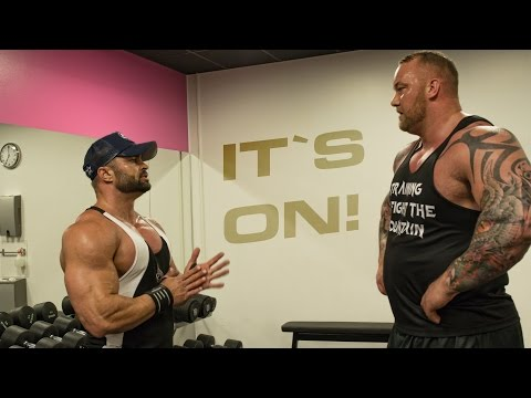 Thumbnail: Worlds Strongest man VS Men`s Physique Olympia Finalist