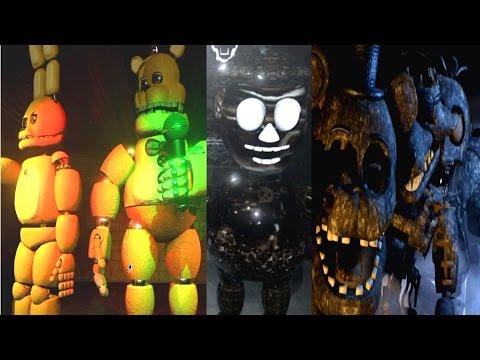 FINAL NIGHTS 2 ALL ANIMATRONICS / MUSEUM [EXTRA]