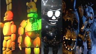 - FINAL NIGHTS 2 ALL ANIMATRONICS MUSEUM EXTRA