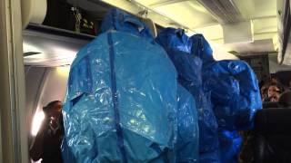 Ebola Scare on US Airways Flight 845 from Philadelphia to Punta Cana - October 8th 2014