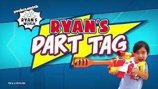 Ryan's Dart Tag The Ranger Build'n'Blast Case   Ryan's World Blasters