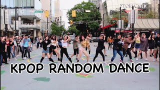 Vancouver K-pop Random Dance In Public || KAOTIC