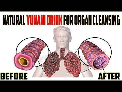 Natural unani drink for organ cleansing