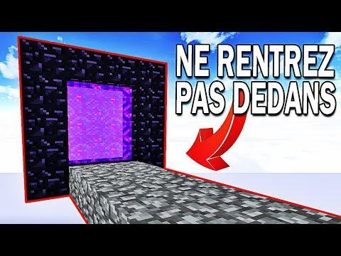 NE RENTREZ PAS DANS CE PORTAIL ! | Minecraft Skygrid ! #Ep6