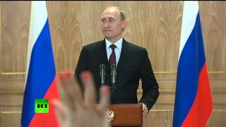 Putin: World economy would collapse if oil prices stay at $80 per barrel (FULL PRESSER)