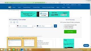 Blue Prism | Currency Converter | Parent URL | HTML MODE