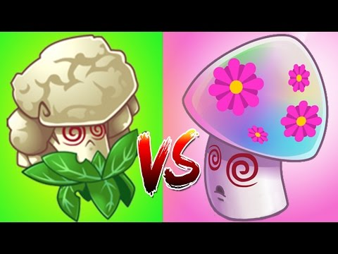 Upgraded Version Of Hypno Shroom The Caulipower | Plants vs Zombies 2 (PvZ 2)