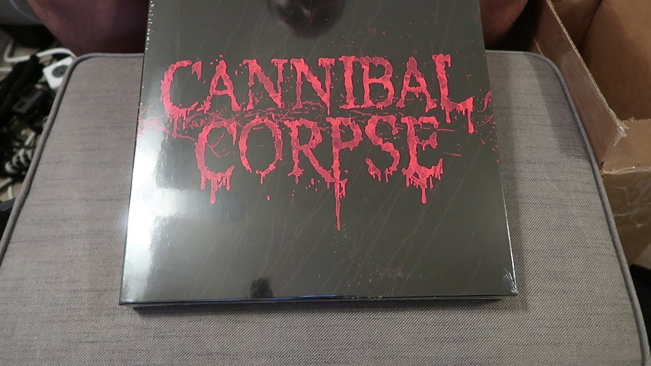 c3ca66921a6 Cannibal Corpse Red Before Black unboxing - YouTube