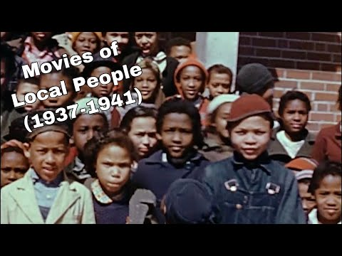 Movies of Local People - Siler City, NC 1937-1939 | Silent Film Excerpts