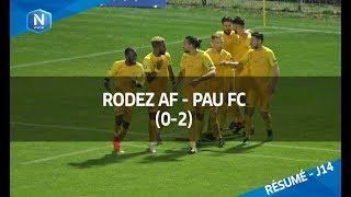 J14: Rodez AF - Pau FC (0-2) le résumé