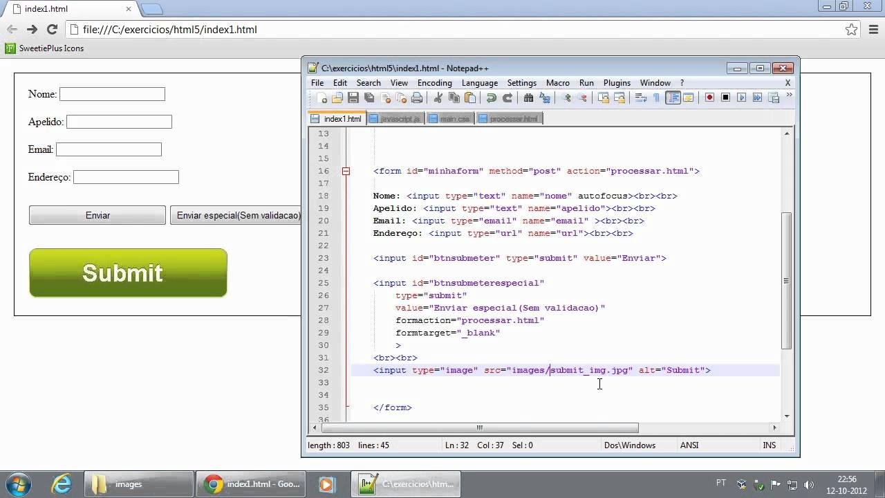 118 html form attributes width e height min e max aplicado a input