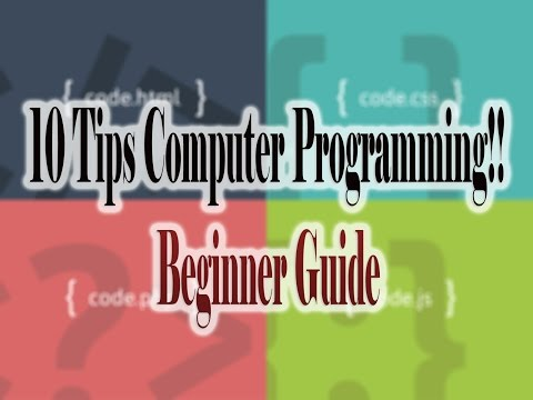 10 Tips for Computer Programming Beginners YouTube