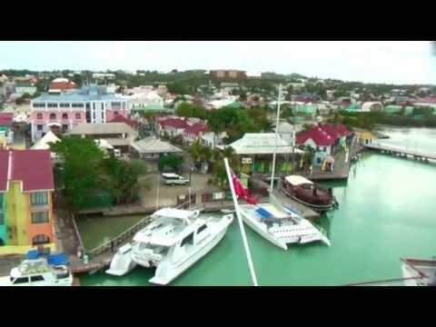 11.03.2012 St. John's Antigua - Barbuda.  Video.