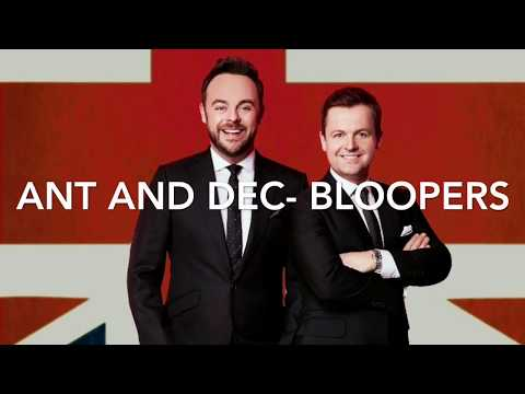 Ant and Dec Funny Moments BloopersOuttakes