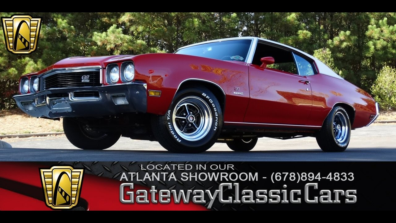 1972 Buick GS Stage I   Gateway Classic Cars Of Atlanta #79